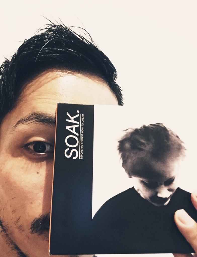 テントセン的音楽「SOAK」と8月の店主のつぶやき