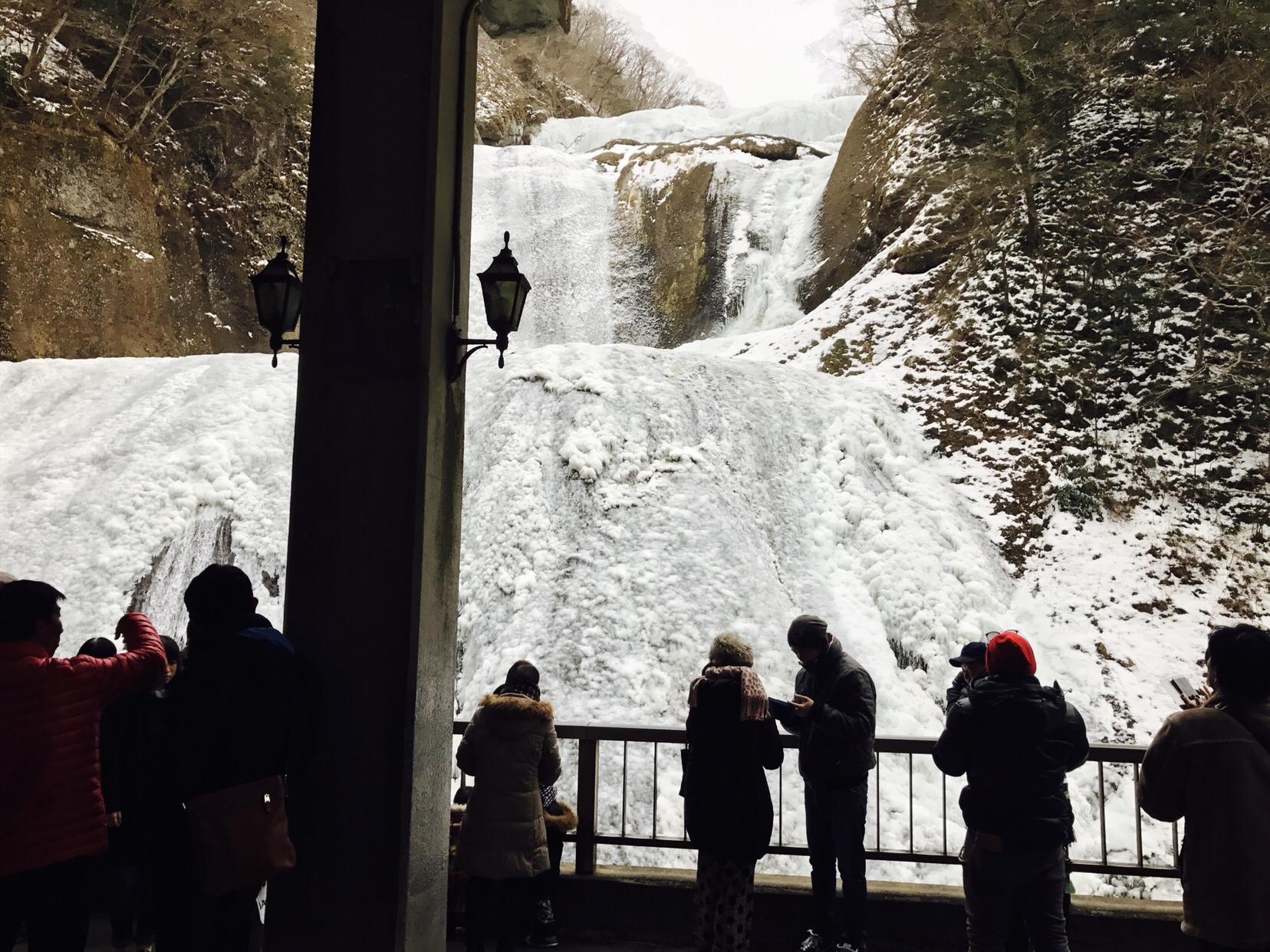日本三大名瀑の袋田の滝に行って来ました。