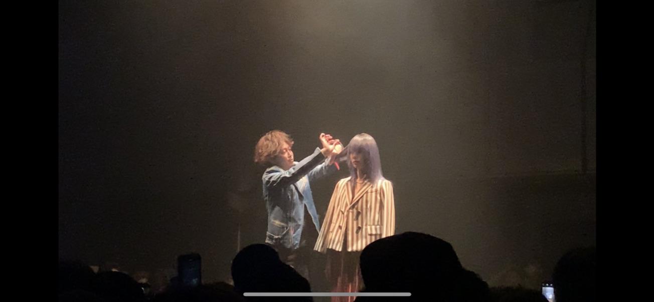 原宿でヘアショー見てきました!!!!